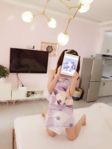 [微露臉]小小美蘿莉馬尾超可愛 [83P]